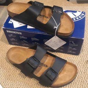 Birkenstock Arizona black new in box